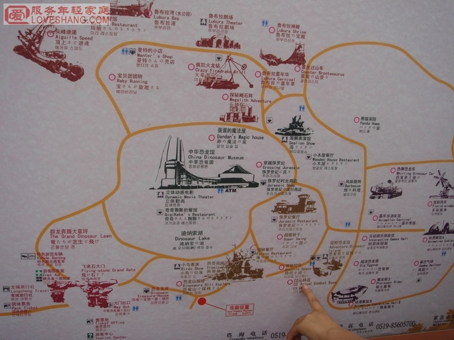常州中华恐龙园项目 地图