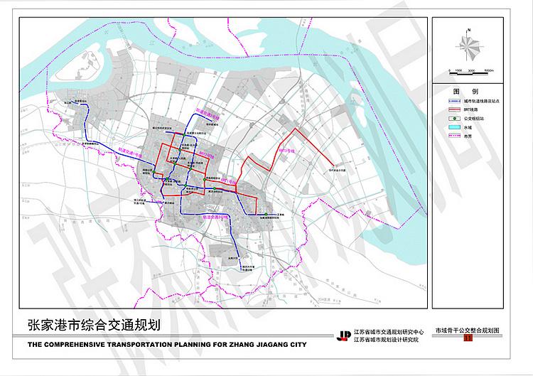 张家港市综合交通规划 2012 2030