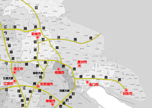 无锡南通高速公路,建设中.