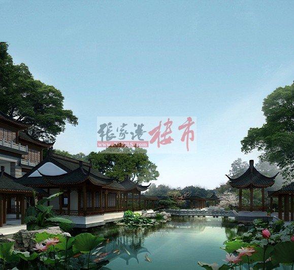 苏园位于张家港城南核心板块,主干道金港大道与新泾中路交汇处,小区