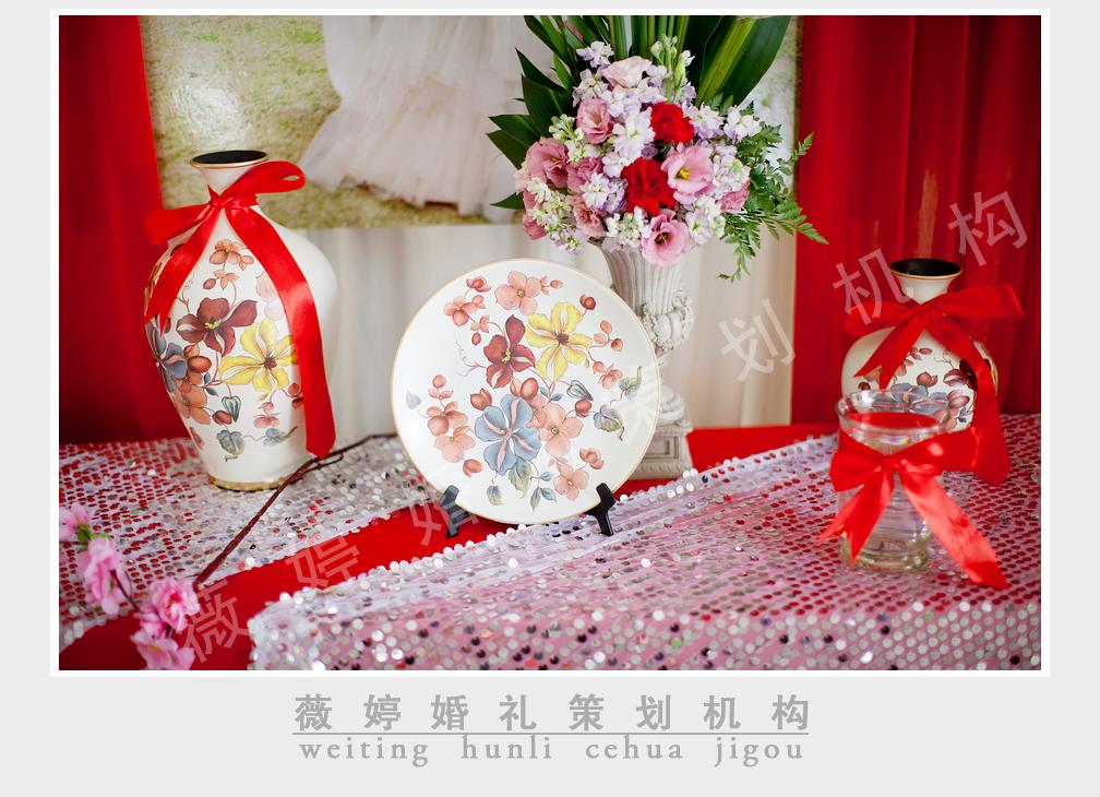 3.23薇婷婚庆之金凤凰婚礼,红色中的浪漫