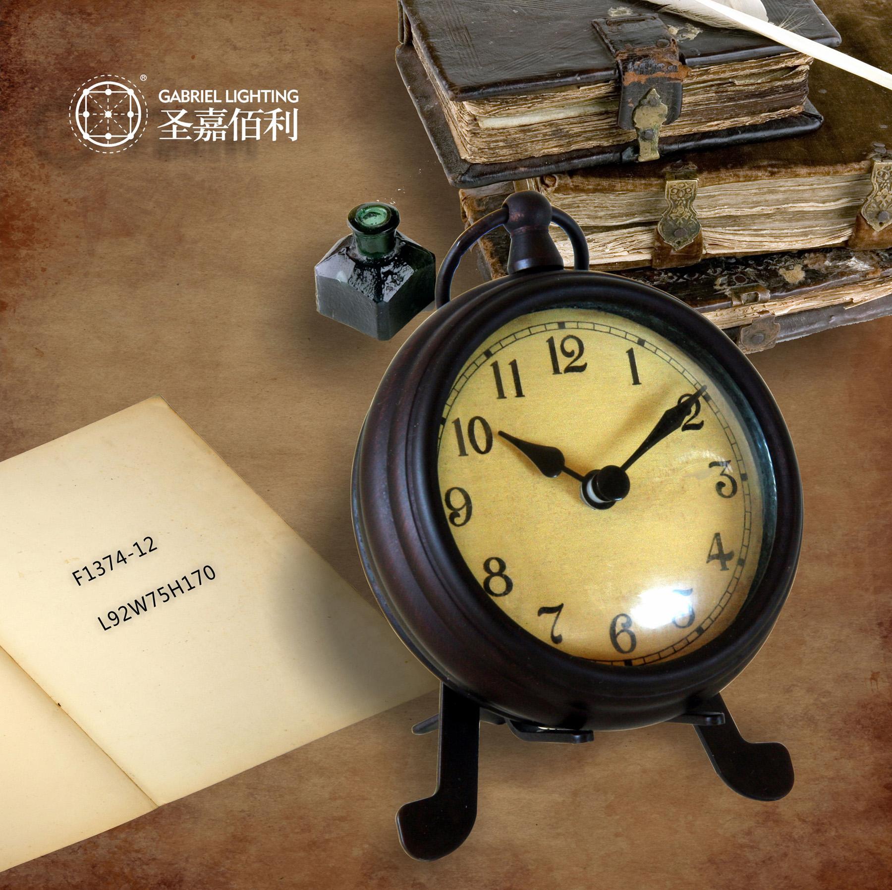 圣嘉佰利之欧式钟表