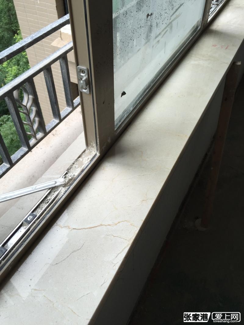 做大理石的来贴好了窗台板